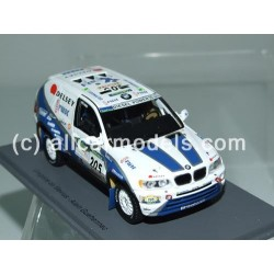 1:43 BMW X5 No. 205- Rally...