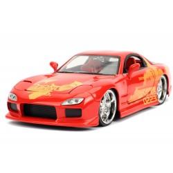 1:24 Orange JL5 Mazda RX-7